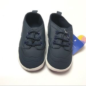 Baby Boys Shoes Toddler Soft Sole Walker 3 Navy